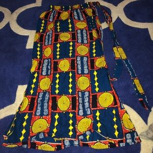 Dresses & Skirts - African fabric skirt